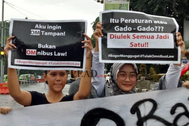 GMNI Bogor, Omnibus Law