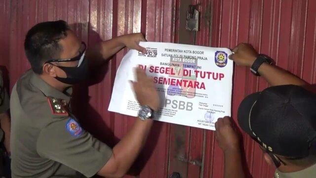 Satpol PP, Kota Bogor, THM, Xclusive