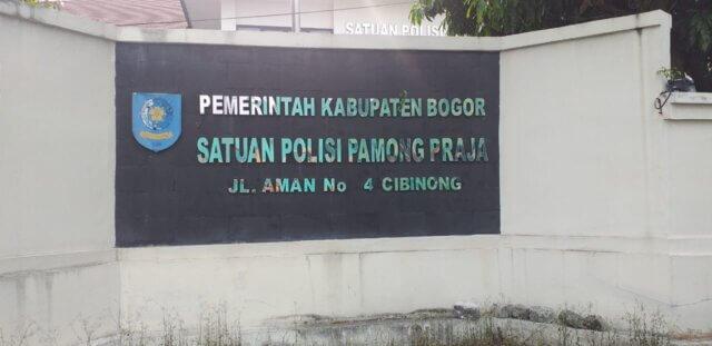 Anggaran Publikasi, Satpol PP, Kabupaten Bogor