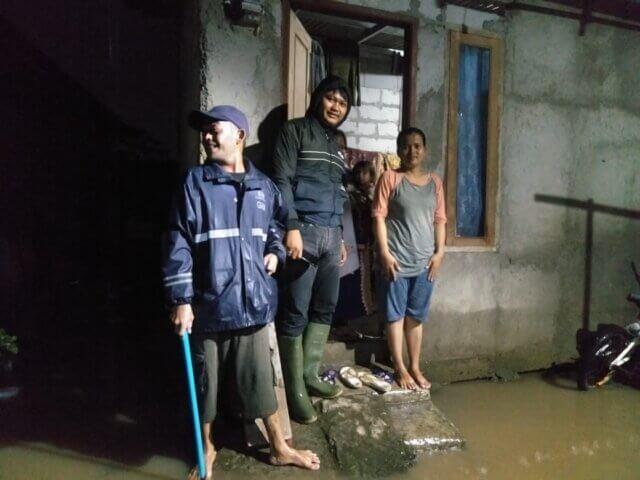 Rumah, Warga, Bogor Utara, Banjir